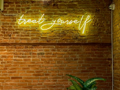 happy new year neon light signage wellness zoom background