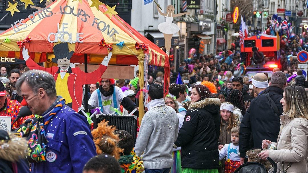 Il y a eu beaucoup de monde au carnaval 2020 de Lagny Sur Marne.