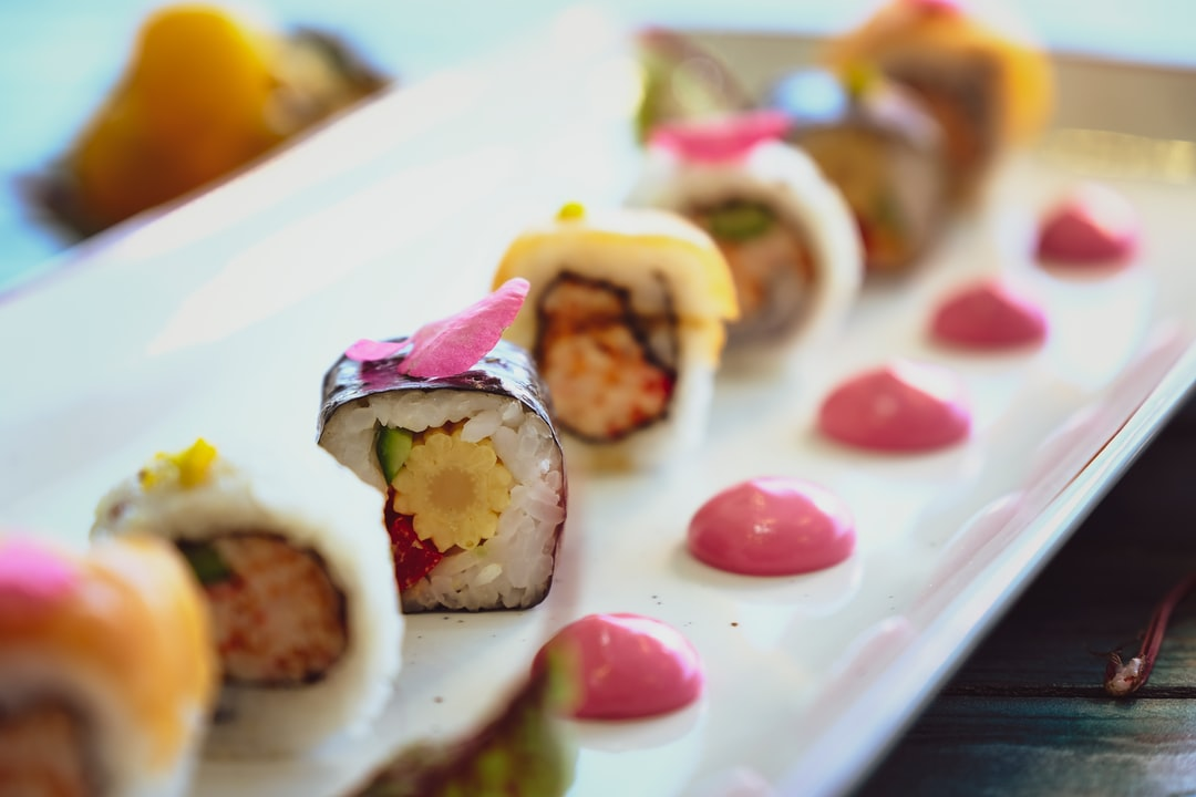 Sushi isn't a bad food option and it's fun to make by Sam Moqadam.