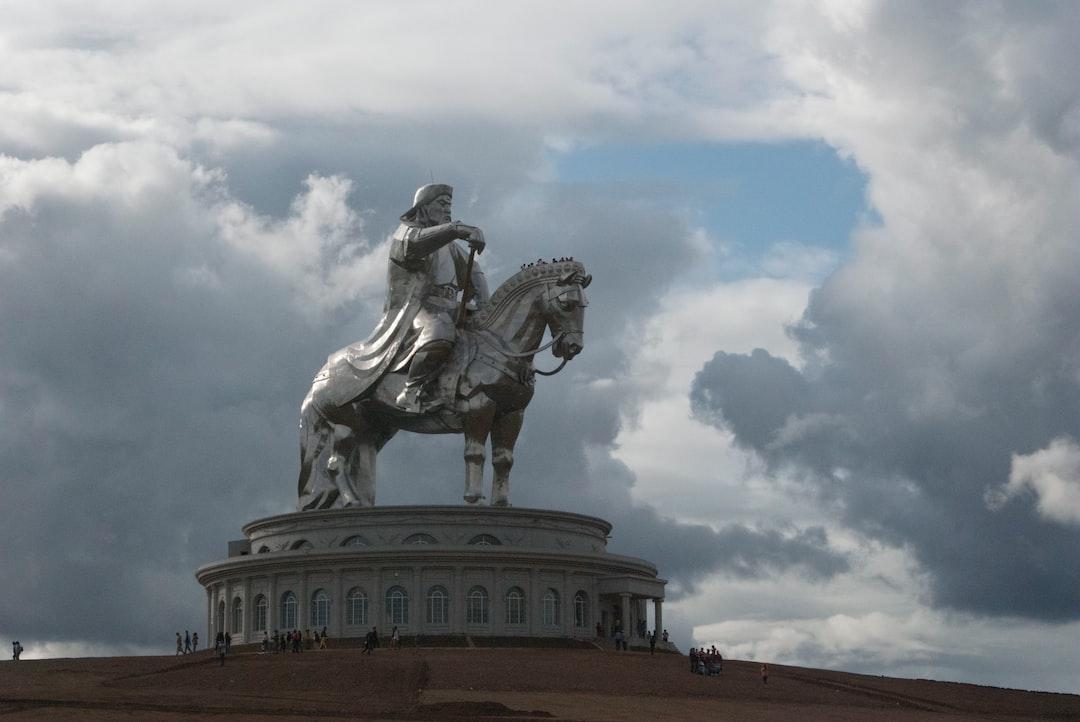 The Great Chinggis Khan Statue
