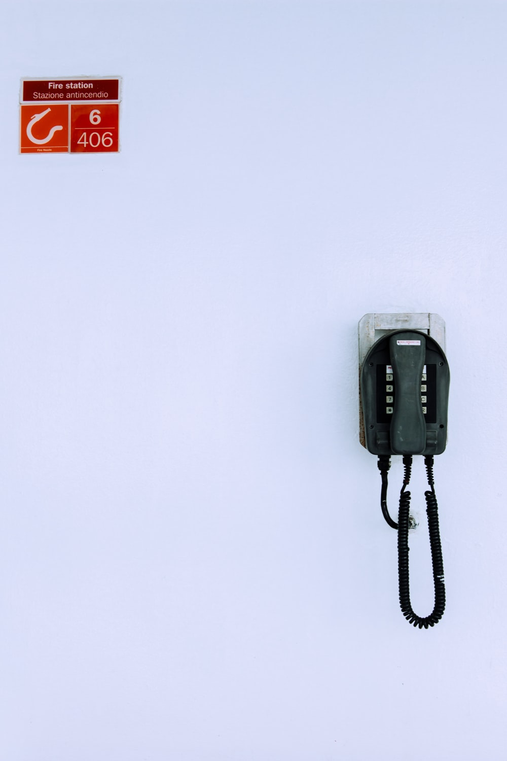black and silver electronic device