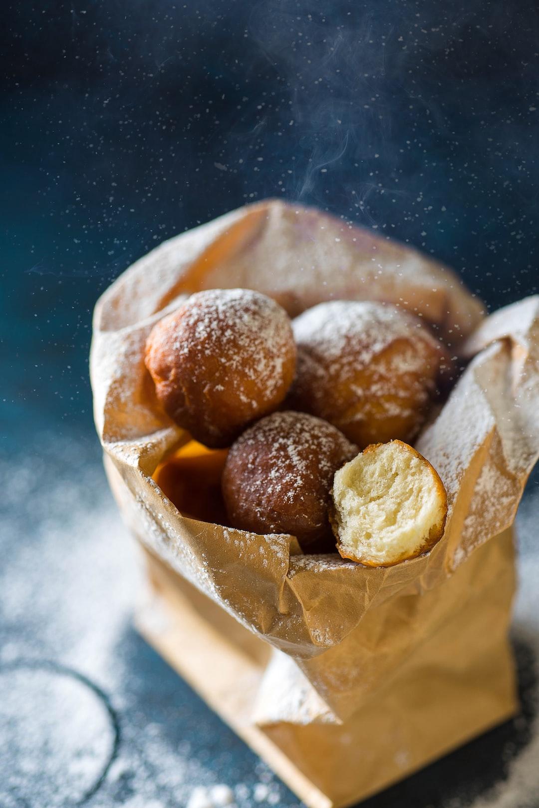 sinker, fritter, dough-boy, doughnut    phototastyfood.ru