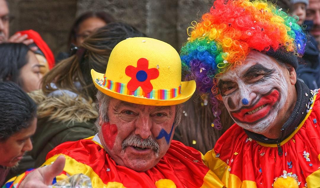 Clowns en goguette au carnaval 2020 de Lagny-sur-Marne