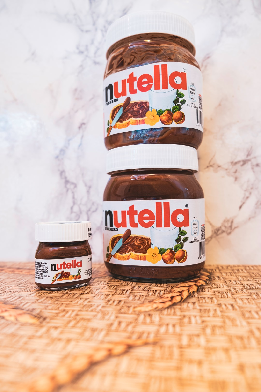 You don't leave 2 jars of Nutella together, on the table...because if you do...well, the photo showcases the reason...🤣🤷♂️ #justkidding