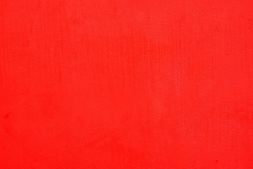 red textile in close up image