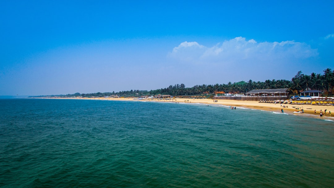 Amazing and beautiful view from an Aguada Fort in Goa.