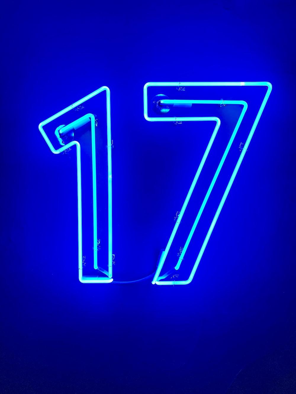 blue letter y on blue background