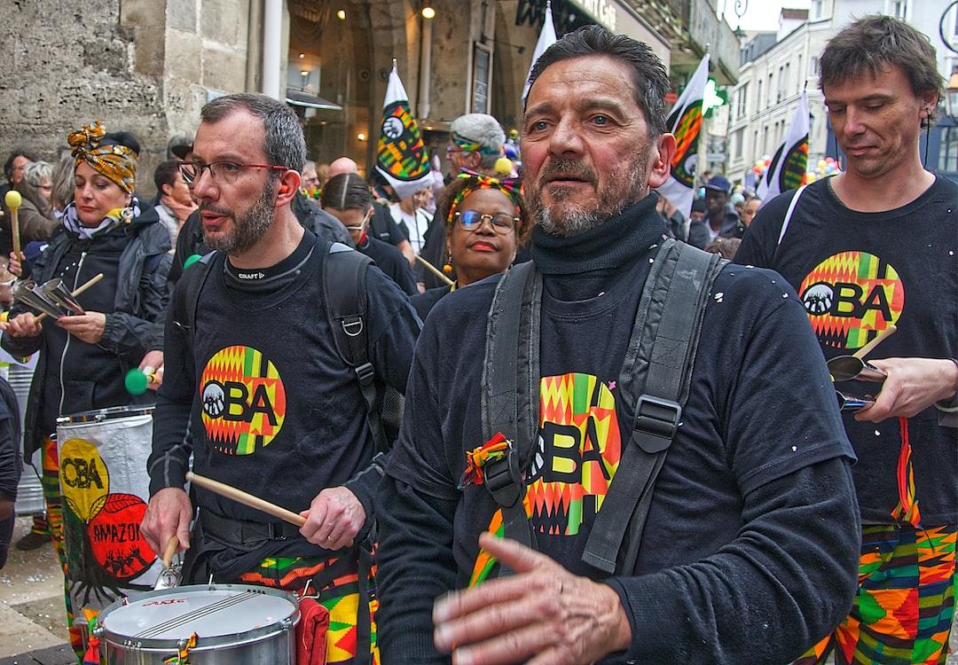 Percussions brésiliennes au carnaval de Lagny-sur-Marne
