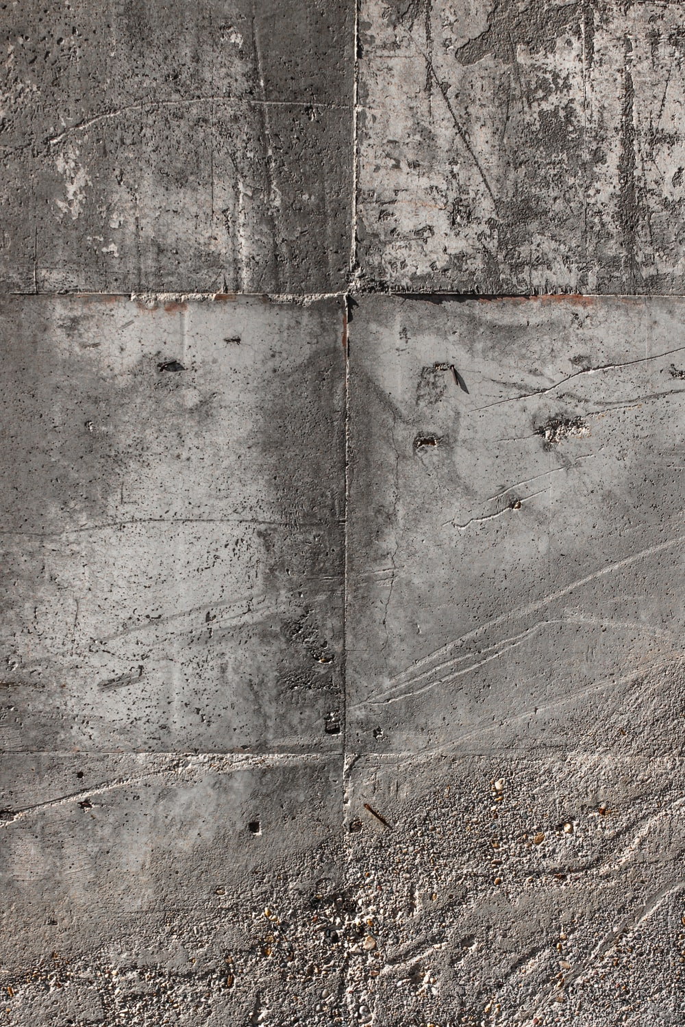 gray and brown concrete wall