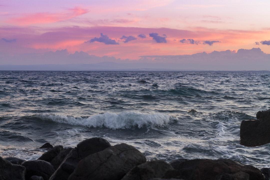 Acitrezza - Sky, sea, sunset