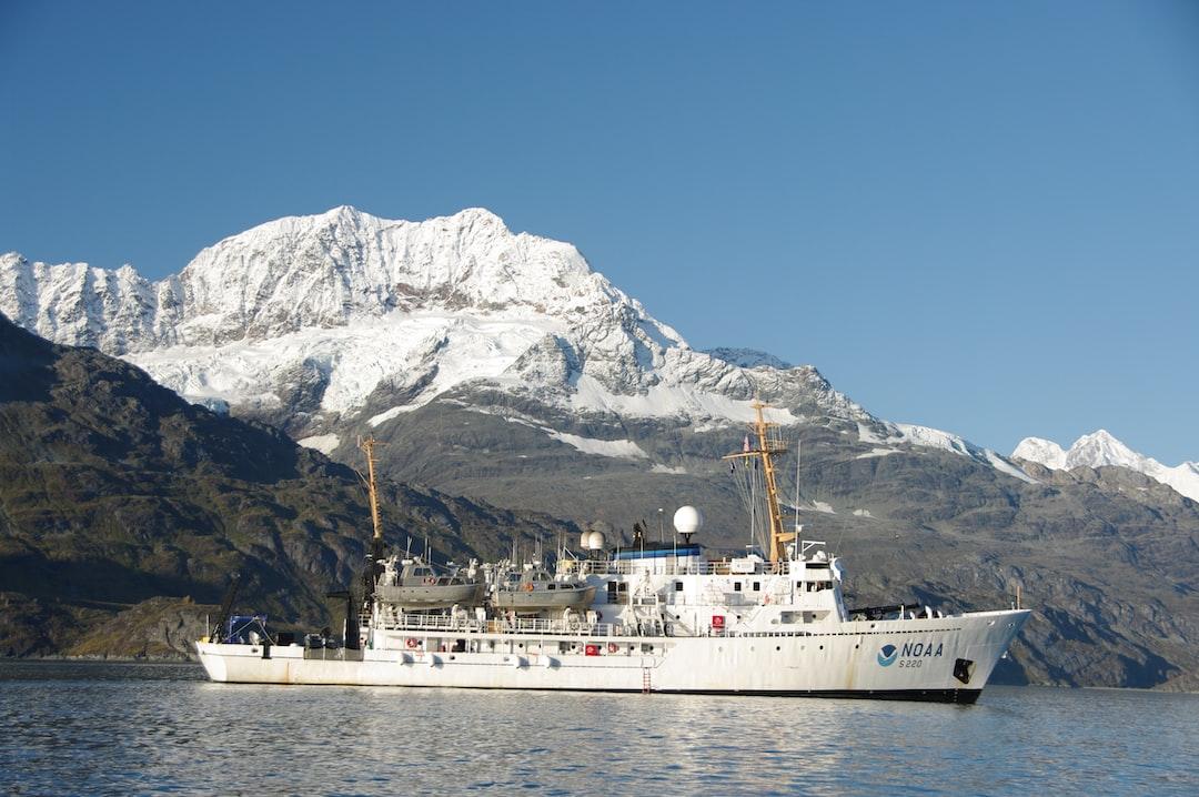NOAA Ship FAIRWEATHER in Glacier Bay.