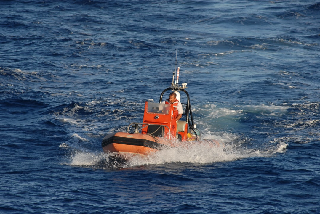Small boat operations off the NOAA Ship DAVID STARR JORDAN