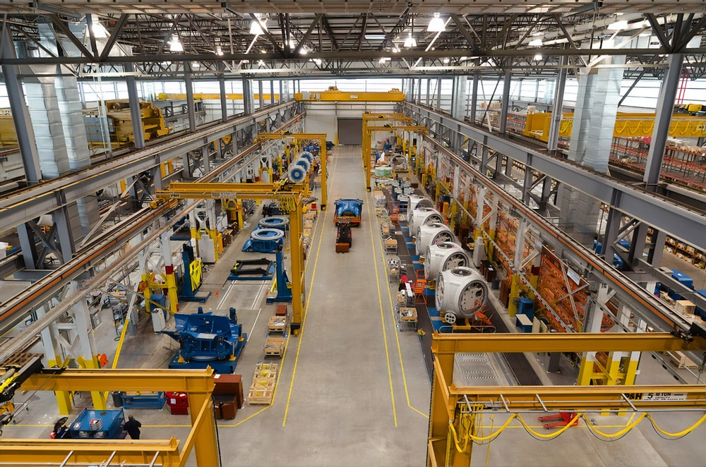 blue and yellow metal industrial machine;retention strategies