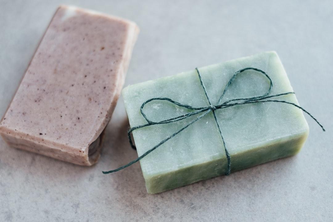 Handmade organic soap bars