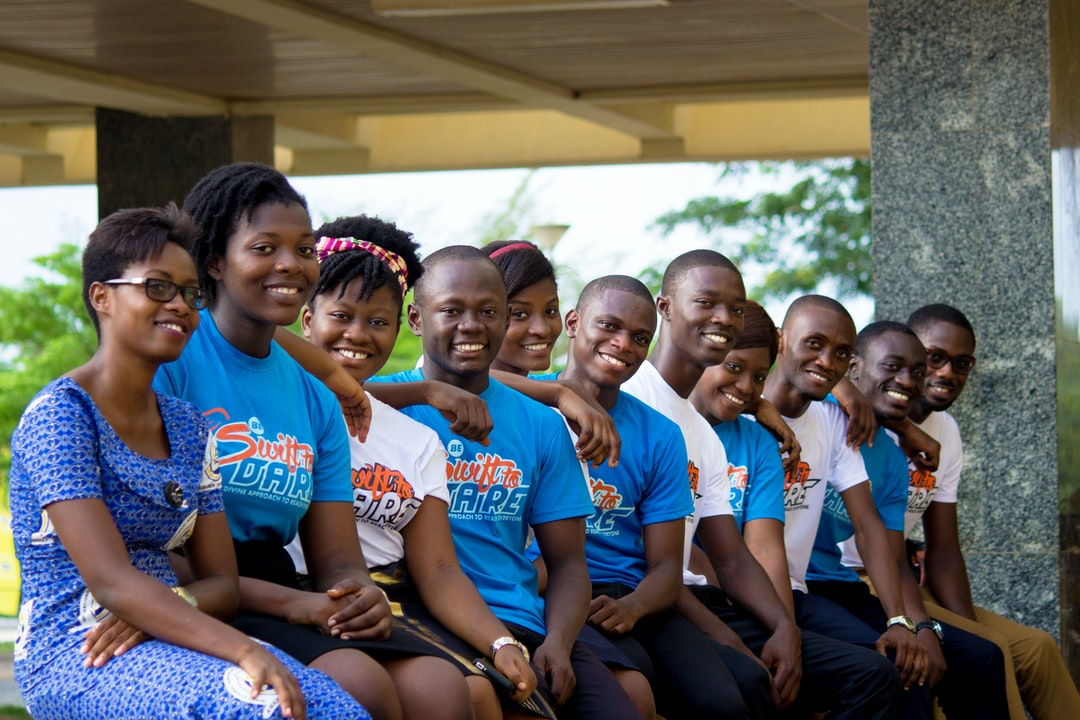 HAPPY AFRICAN CHRISTIAN STUDENT LEADERS