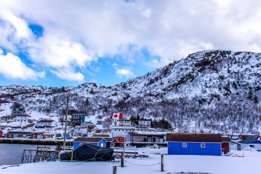The little fishing town of Petty Harbour