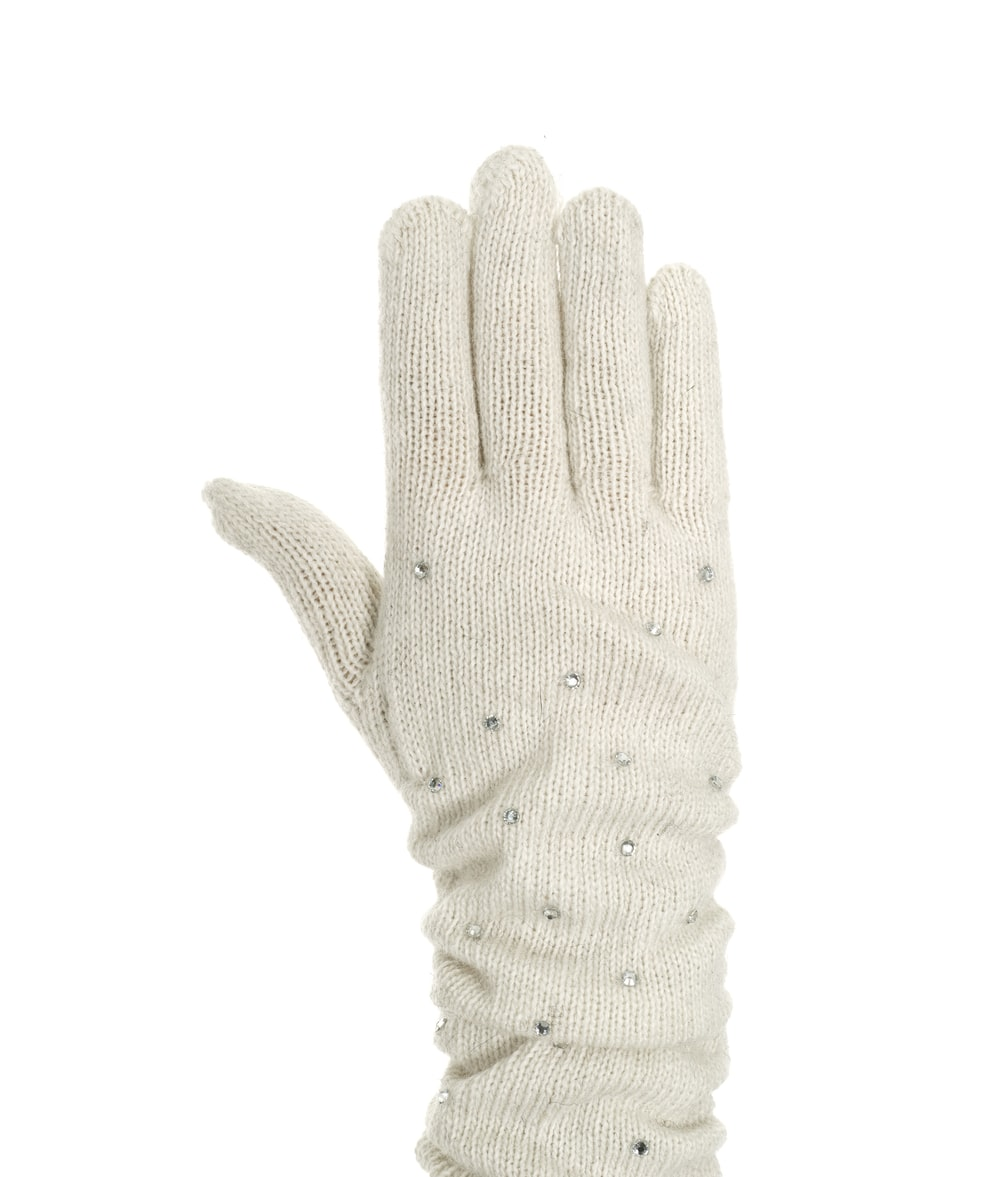persons hand with white background