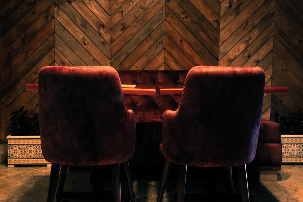 brown wooden chairs on brown wooden floor