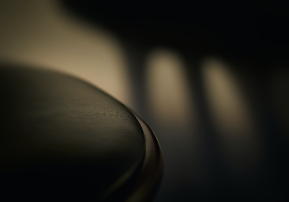 black leather textile in close up photography
