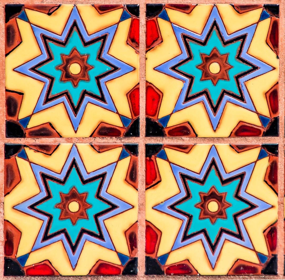 Glazed Tiles at St. Phillip's Plaza