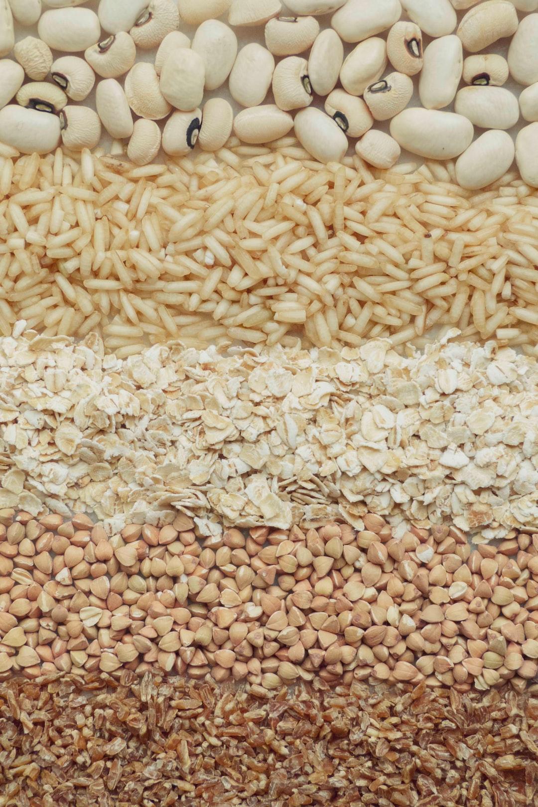 WHOLE FOODS WELLNESS | black eyed peas + white pea beans, brown rice, whole wheat flakes, toasted kasha (buckwheat), brown bulghur