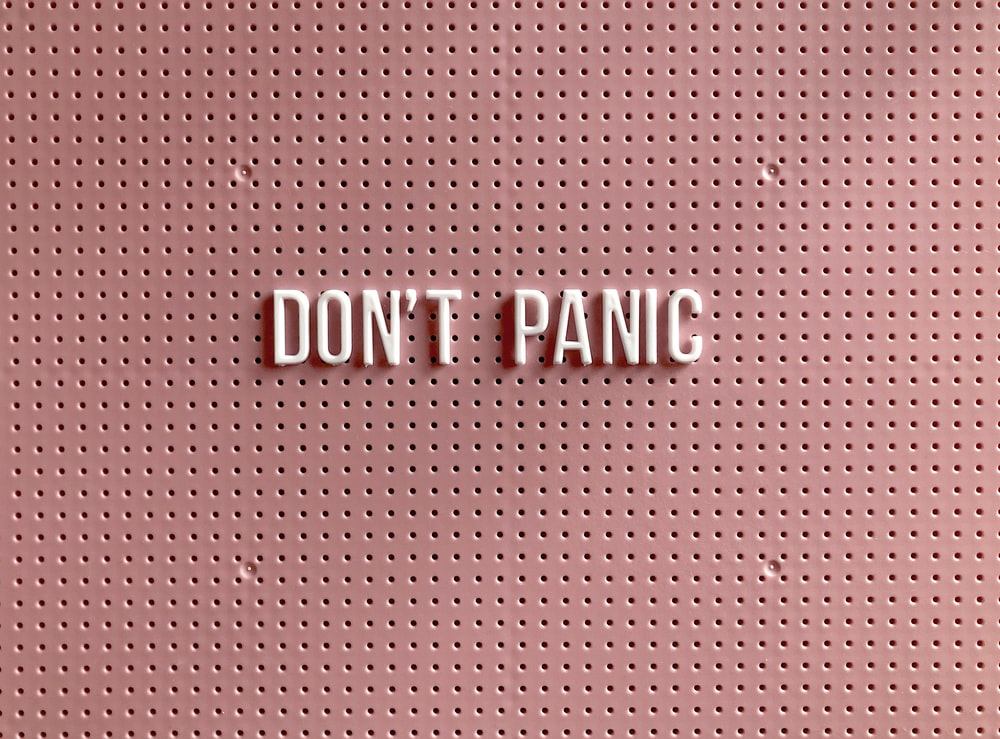 i love you text on pink and white polka dot background photo free dont panic image on unsplash free dont panic image on unsplash