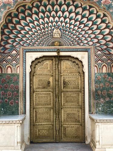 Palace Entrance in Jaipur