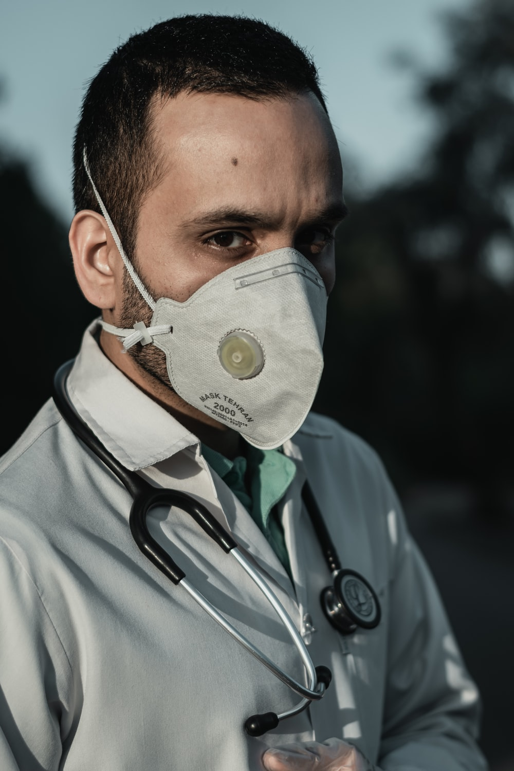 Doctor wearing a mask