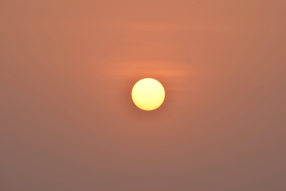sun on sky during sunset