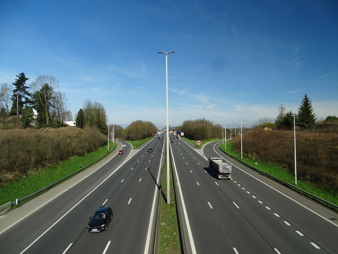 Traffic on the highway - Verkeer op de Brusselse Ring - Trafic sur le ring de Bruxelles