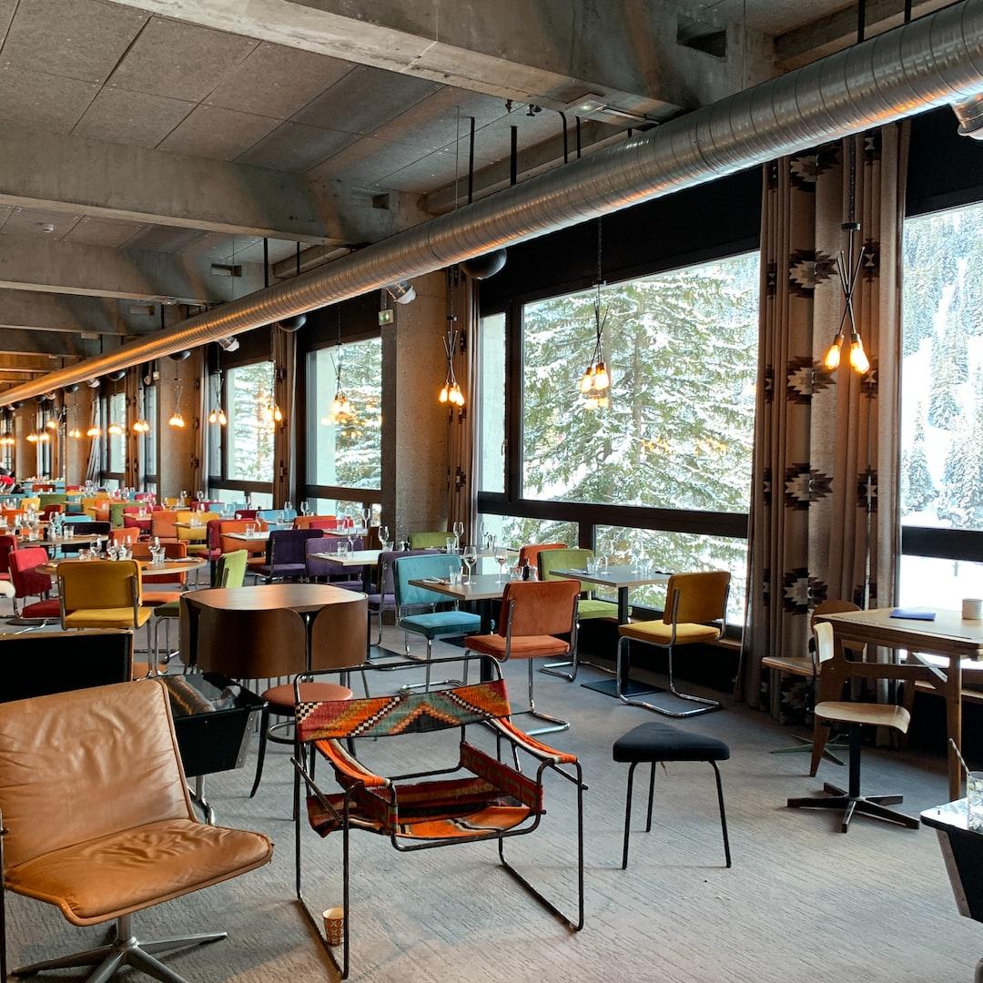 Dinning room Hotel Terminal Neige, Flaine