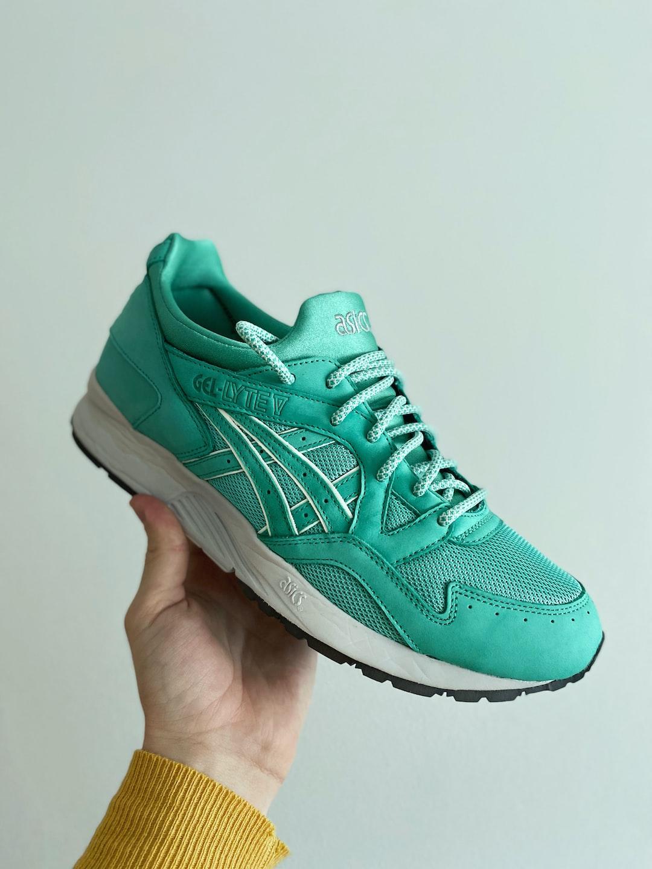 "Sneaker grail checked:  Asics Gel Lyte V x Ronnie Fieg ""Mint Leaf"" 🍃❄️"