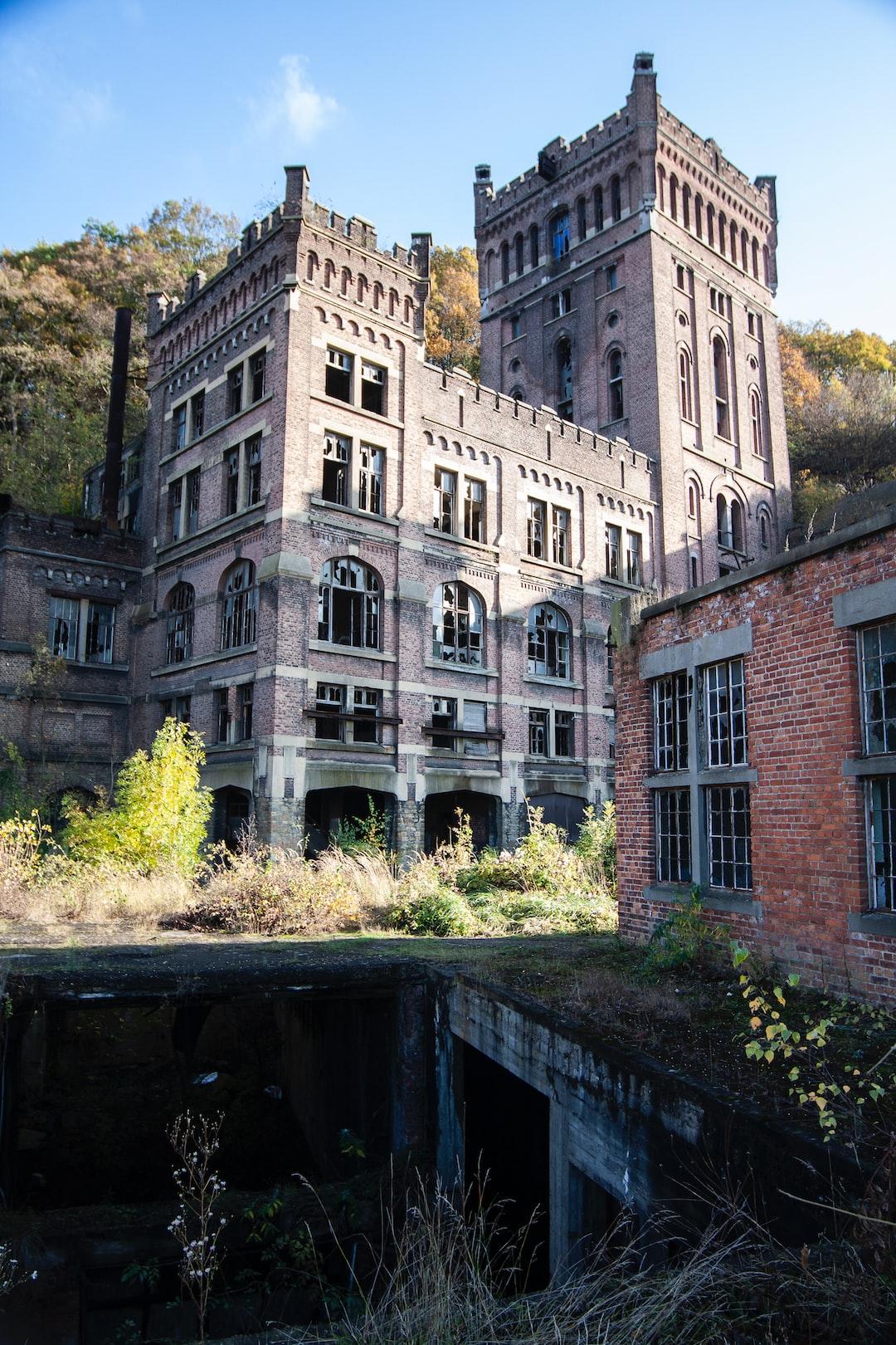 Abandoned cole mine Hasard Cheratte, Belgium