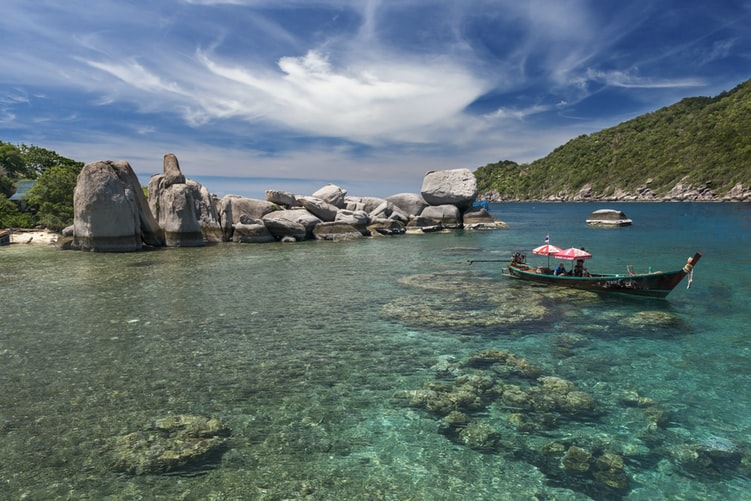 Koh tao, Places to visit in Thailand in July