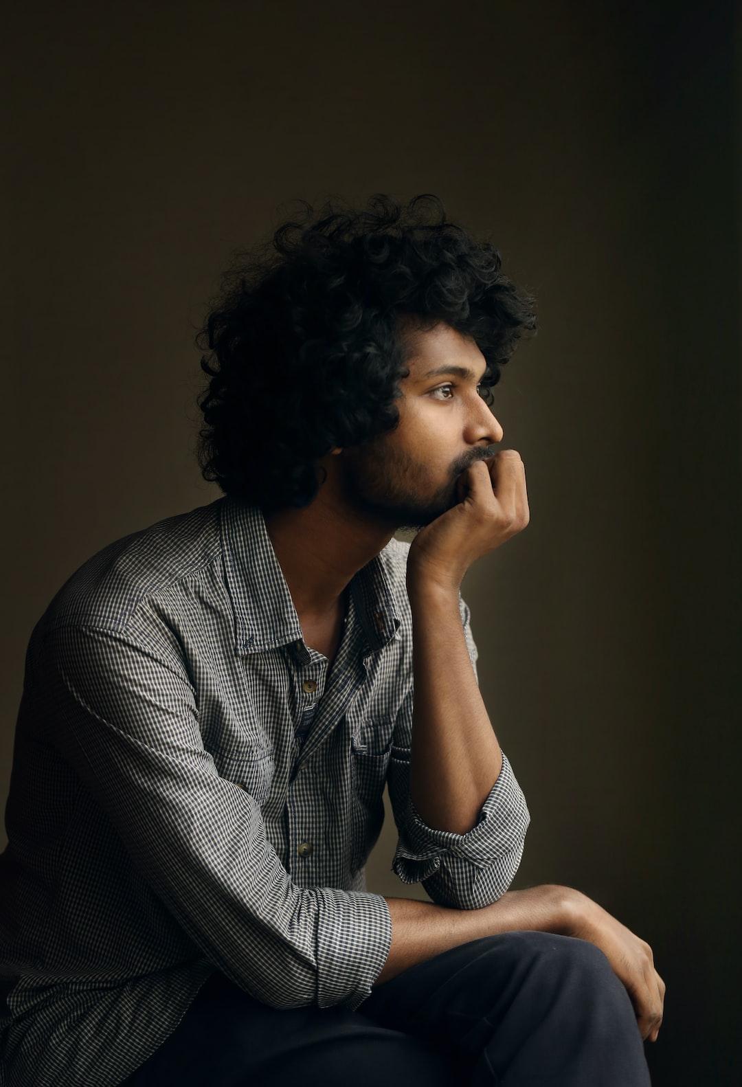 Man, Male Portrait