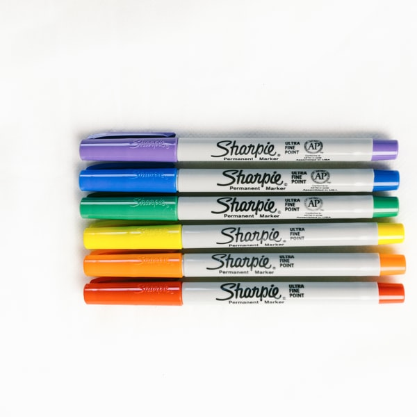Colorful Sharpie Markers