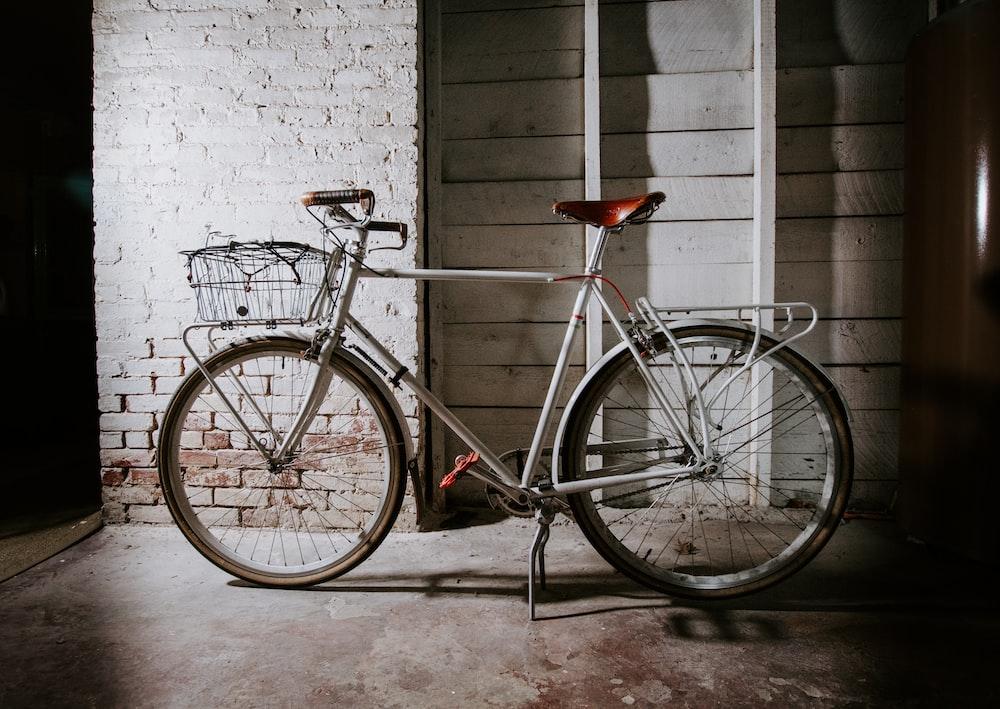 black and red road bike