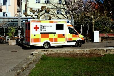 Red Cross in permanent use, in Lindau
