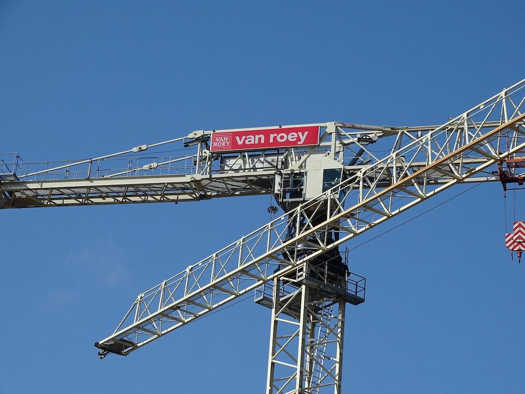 Werfkraan - Grue de chantier-