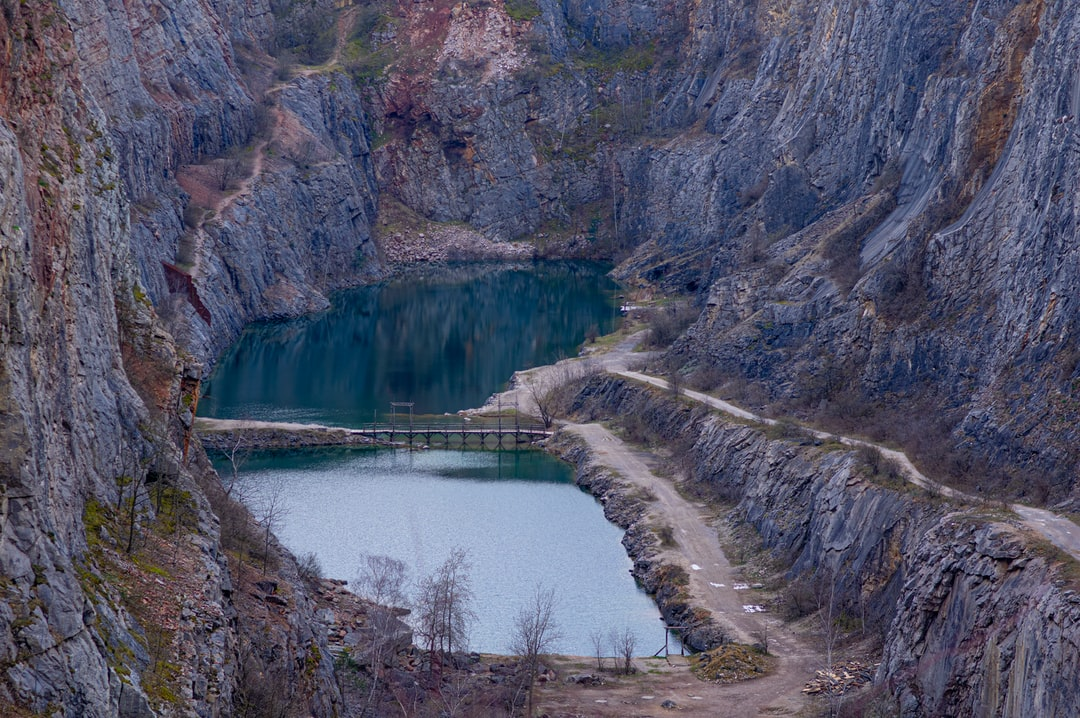 funny little canyon that we found in one of the villages of the Czech Republic