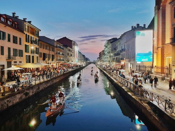 Navigli Canals of Milan
