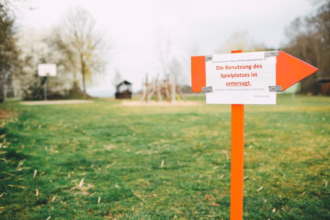 Corona pandemic - Bavaria announces emergency: The use of the playground is prohibited. This applies from March 17 through April 19, 2020 inclusive.  // Corona-Pandemie - Bayern ruft den Katastrophenfall aus: Die Benutzung des Spielplatzes ist untersagt. Dies gilt ab 17. März bis einschliesslich 19. April 2020