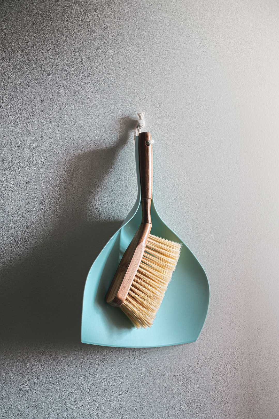 design Broom and paddle for clean home
