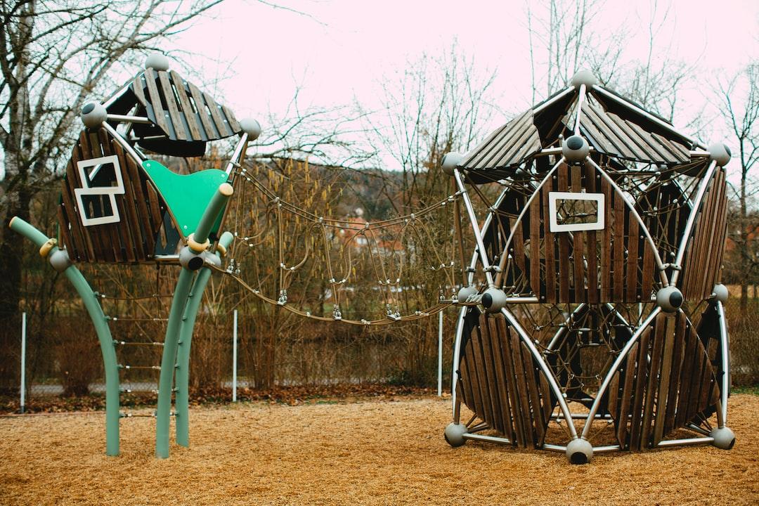 Neo Futuristic Playground Sandbox