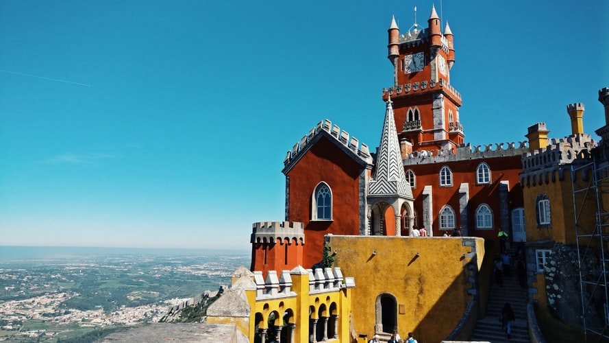 Pena Palace, Portugal, Iconic Landmarks in Europe