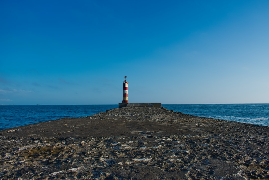 A view of lighthouse in Vila do Conde.