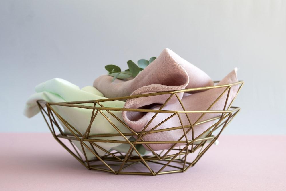 white ceramic flower vase on white table