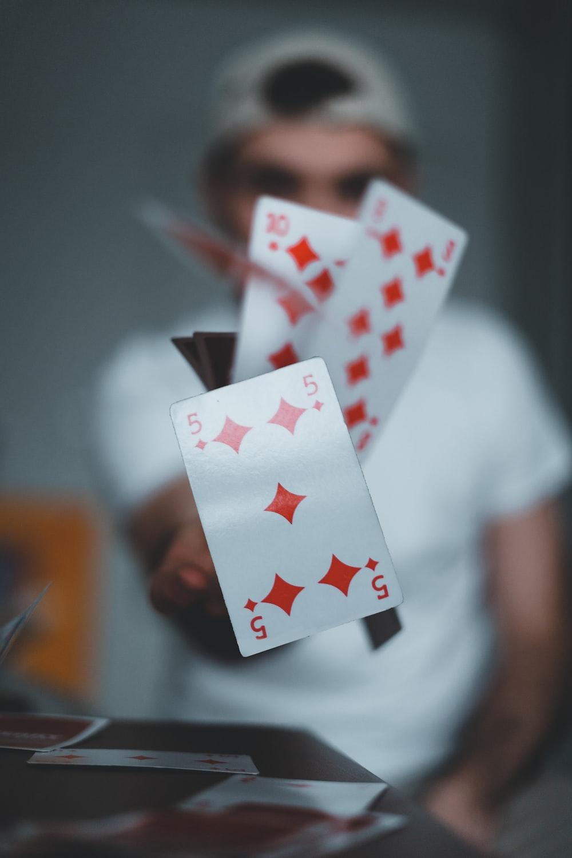 6 of diamonds playing card