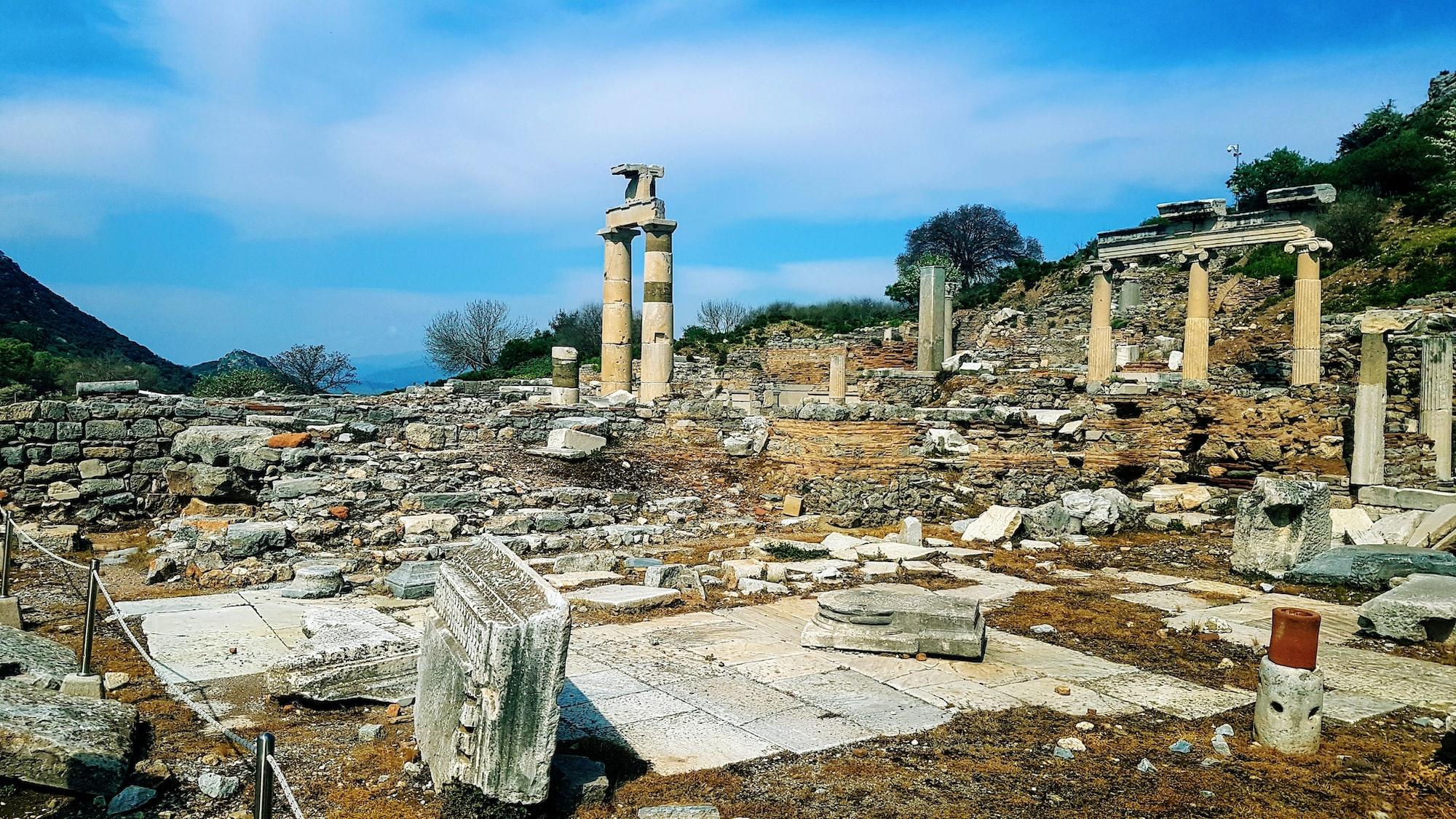 Efes'te Bir Tapınak Bulmaca Anlamı Nedir?