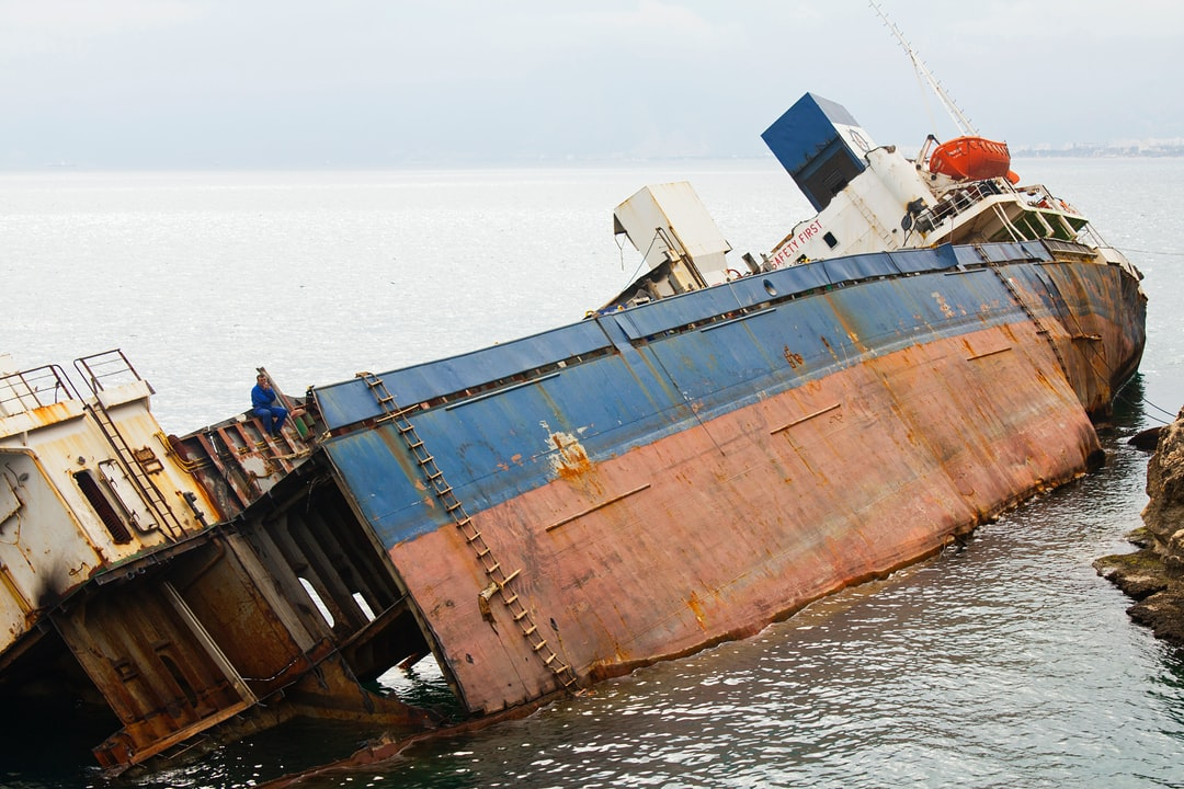 Views of Ship Accident